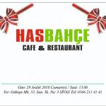 Has Bahçe Cafe ve Lokanta Salonu
