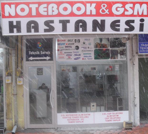 Notebook GSM Hastanesi