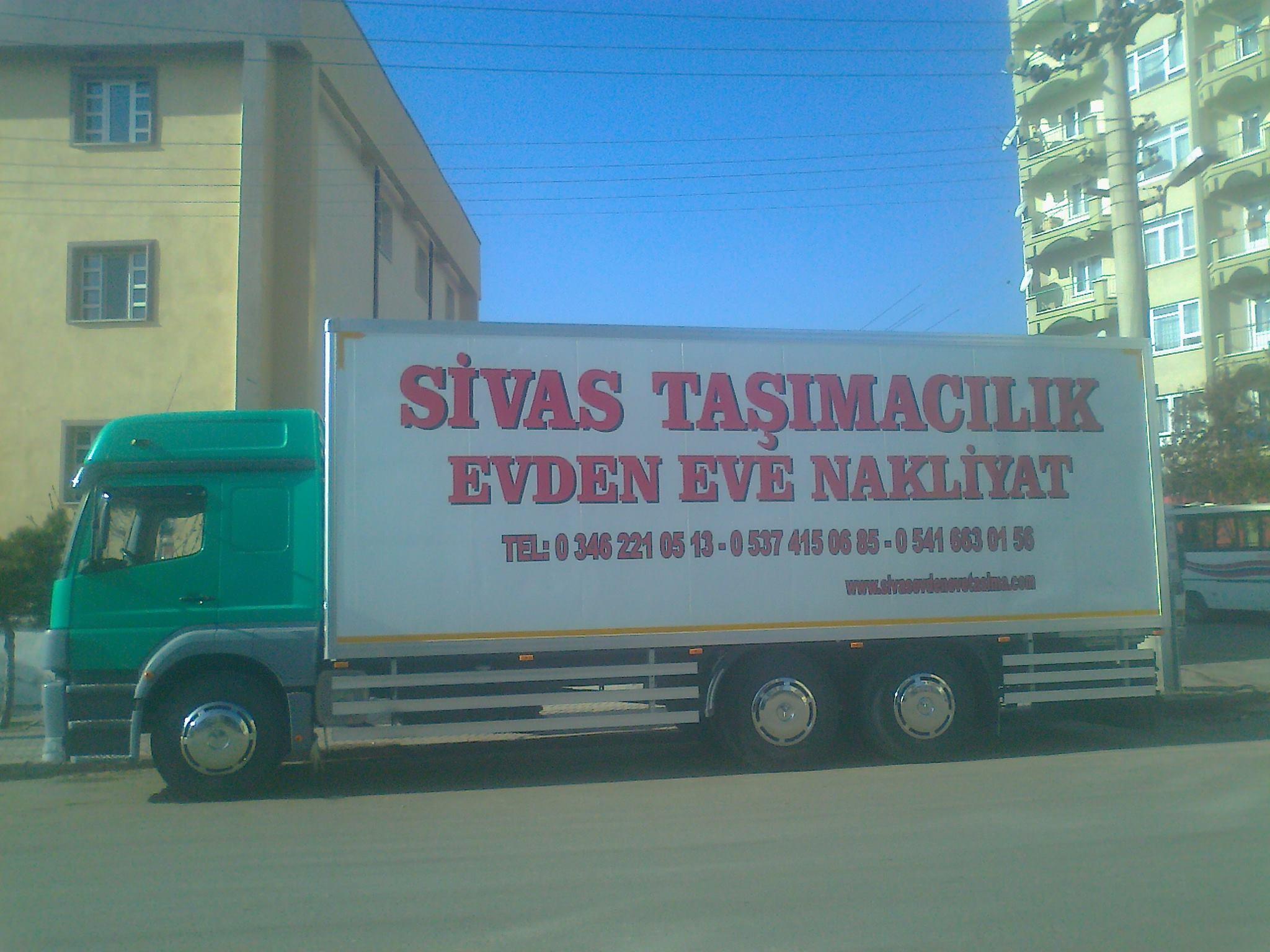 Öz Sivas Asansörlü Evden Eve Taşımacılık