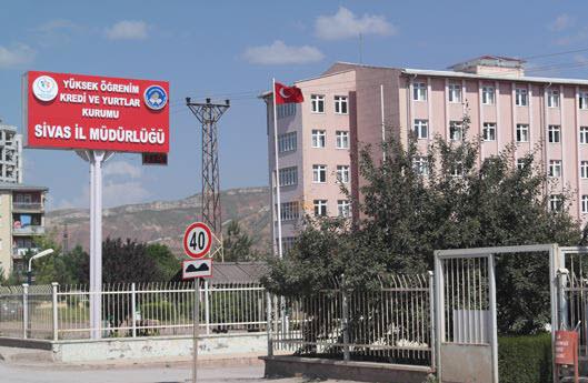 Sivas Şemseddin Sivasi Öğrenci Yurdu