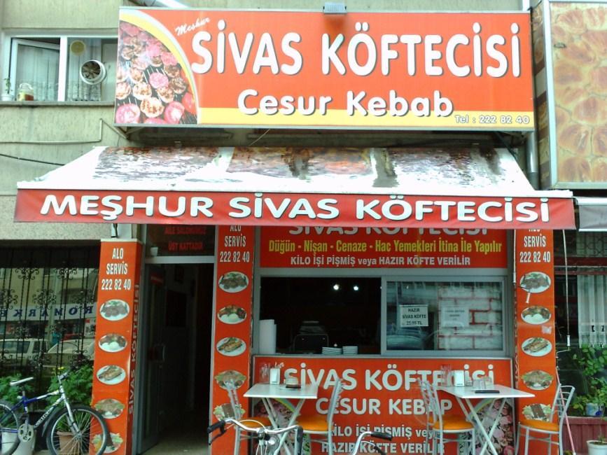 Cesur Kebap Sivas Köftecisi