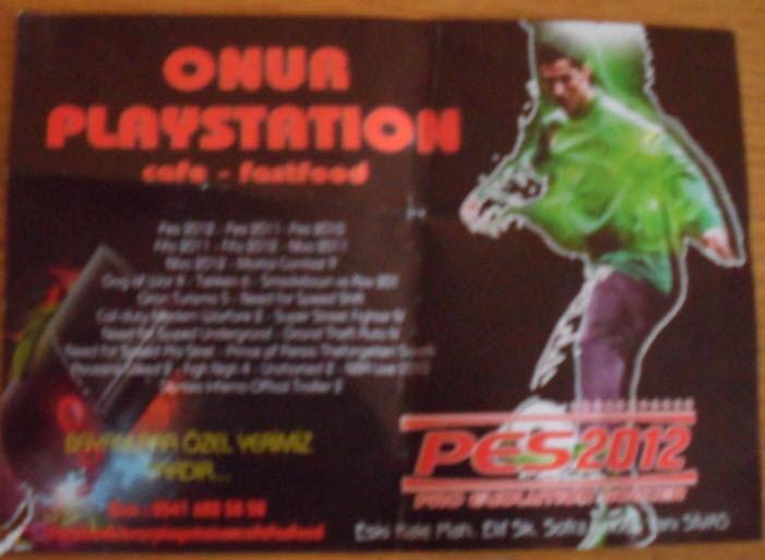 Onur Playstatinon ve lig Tv