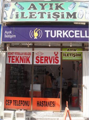 Ayık iletişim Teknik Servis